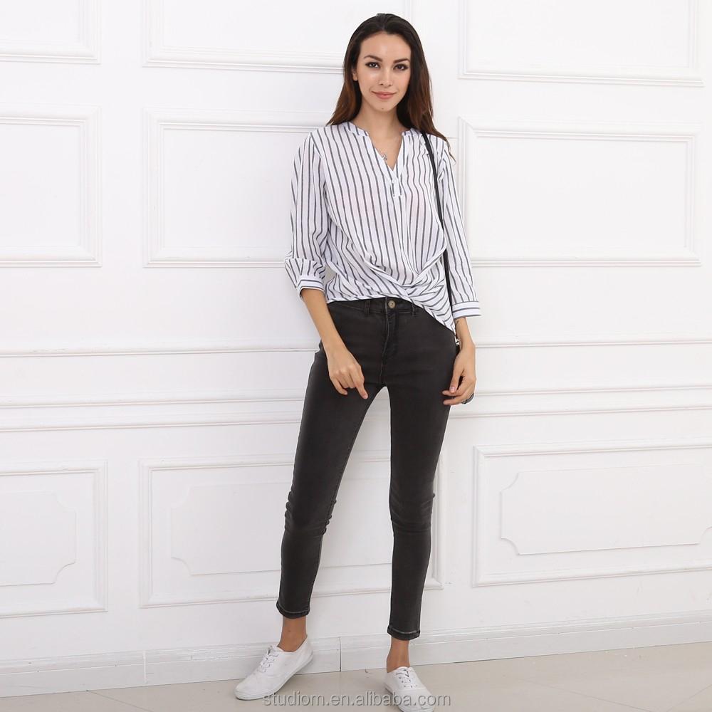 683d52c8c Alibaba mujeres de moda diseño de hombro tie brazalete blusa tops. 0  vendidos. 2016 Alibaba último blusa de moda diseño de manga larga dama blusa  ...