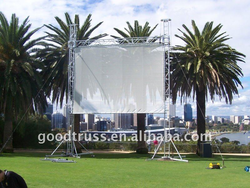 outdoor rental business -- mobile led display (truss W6mtr, H5mtr)