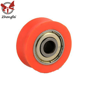 Plastic pulley wheels small plastic pulley with bearing