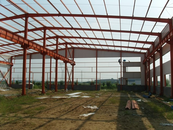 Prefabricated steel structure buildings warehouse workshop