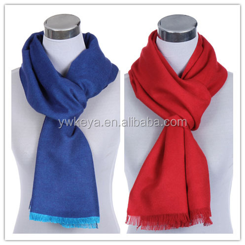 2016 new winter Simple style warm solid color scarves Men's rayon scarves multicolor optional