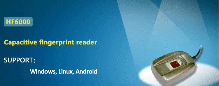 HF-6000 China Android USB Biometrics Fingerprint Scanner