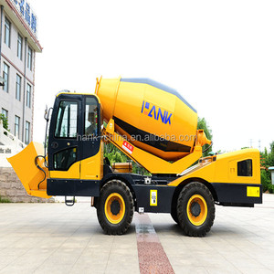 good quality QGMC concrete mixer truck/mini concrete mixer for sale