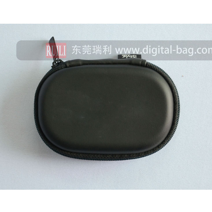 Hard EVA moulded carry case hard bag packing case for bike headset