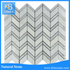polished glazed white marble tile floor wall mosaic tiles