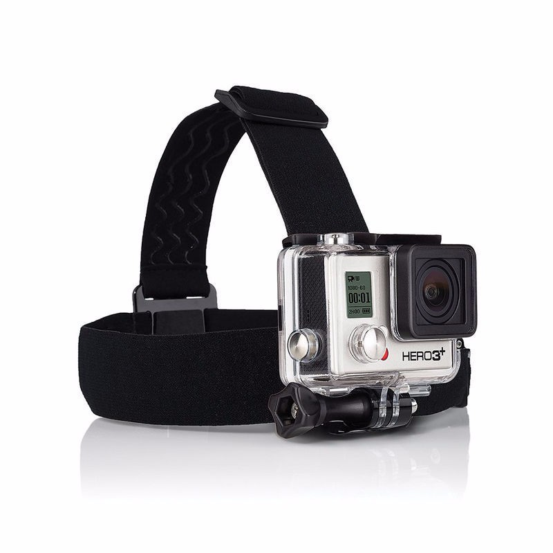 Gopro Accessories Elastic Adjustable Camera Head Strap Mount Belt Tripod Adapter for Gopro Hero Xiaomi Yi Camera Accessories