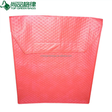 Custom Non woven thermal Pizza bag cooler tote bag food delivery bag