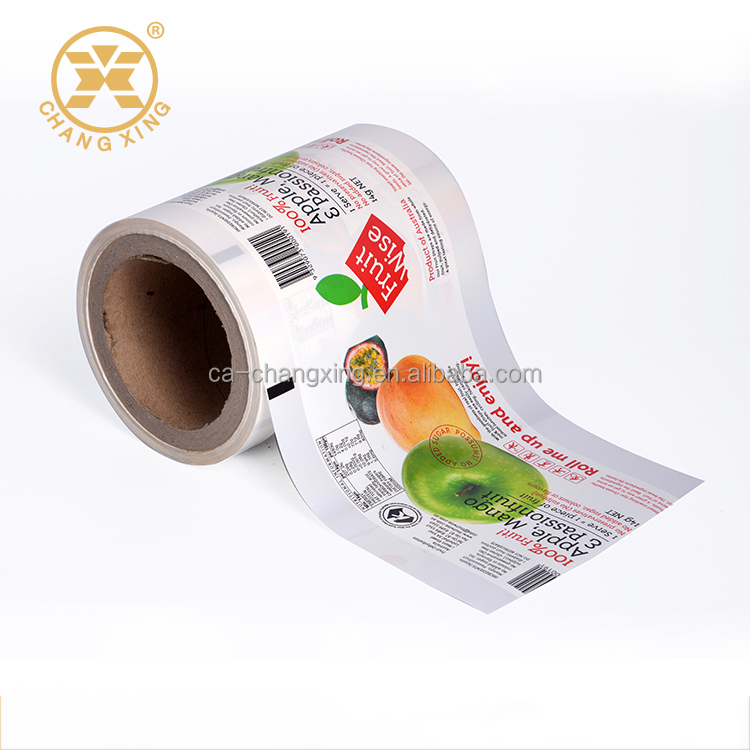 FDA Verified Paper Plastic Aluminum Laminated Food Grade Packaging Film  Roll Veel, View high quality food packaging film, CACX Product Details from