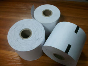 79mm printed thermal paper with sensor mark