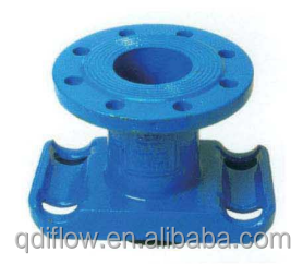 Ductile Iron Universal Saddle With Outlet Flange Type