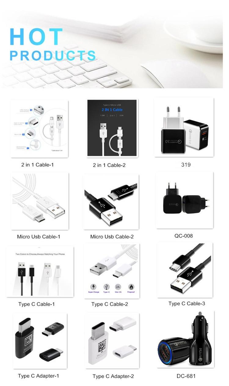 Shenzhen fabrik preis bunte micro geflochtene usb kabel usb 2.0 debug kabel usb-datenkabel