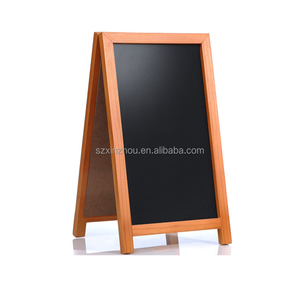 A shape advertisement chalkboard / high quality kids learning magnetic chalkboard child