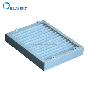White Metal Frame Filter for Air Purifiers parts