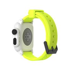 Водонепроницаемый ударопрочный чехол для Apple Watch series 3 2, мягкая силиконовая лента для iwatch band, Аксессуары 42 мм(Китай)