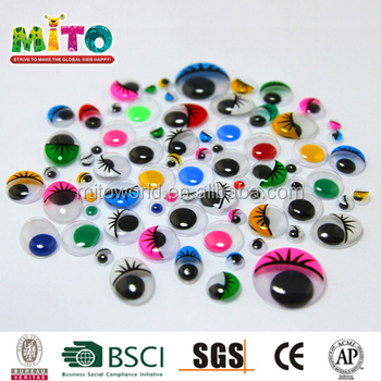 Factory Supply Sheet Diy Doll Eyes For Kids