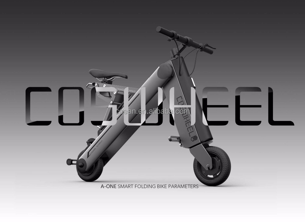 2017 New & Fashion Reddot design award winner electric bicycle <strong>folding</strong> bike scooter