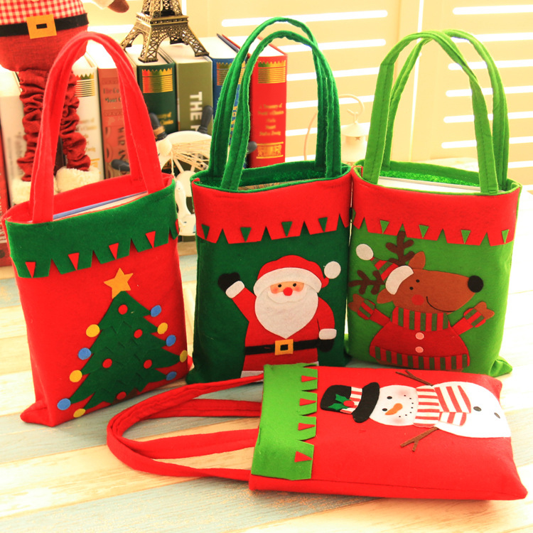 large size christmas gift bags new year santa cloth bag high quality christmas decoration supplies gift
