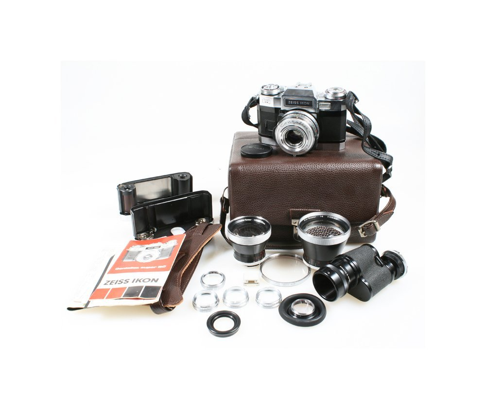 Buy ZEISS IKON CONTAFLEX SUPER BC OUTFIT W/CARL ZEISS 8X30