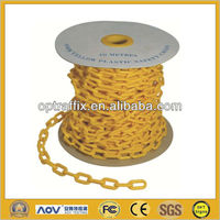 Worksite Safety Plastic Chain Clear Colored Chain