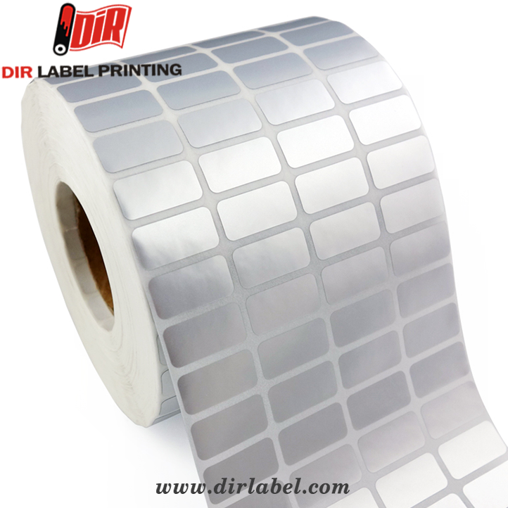 Factory price professional clear printing vinyl blank sticker paper roll