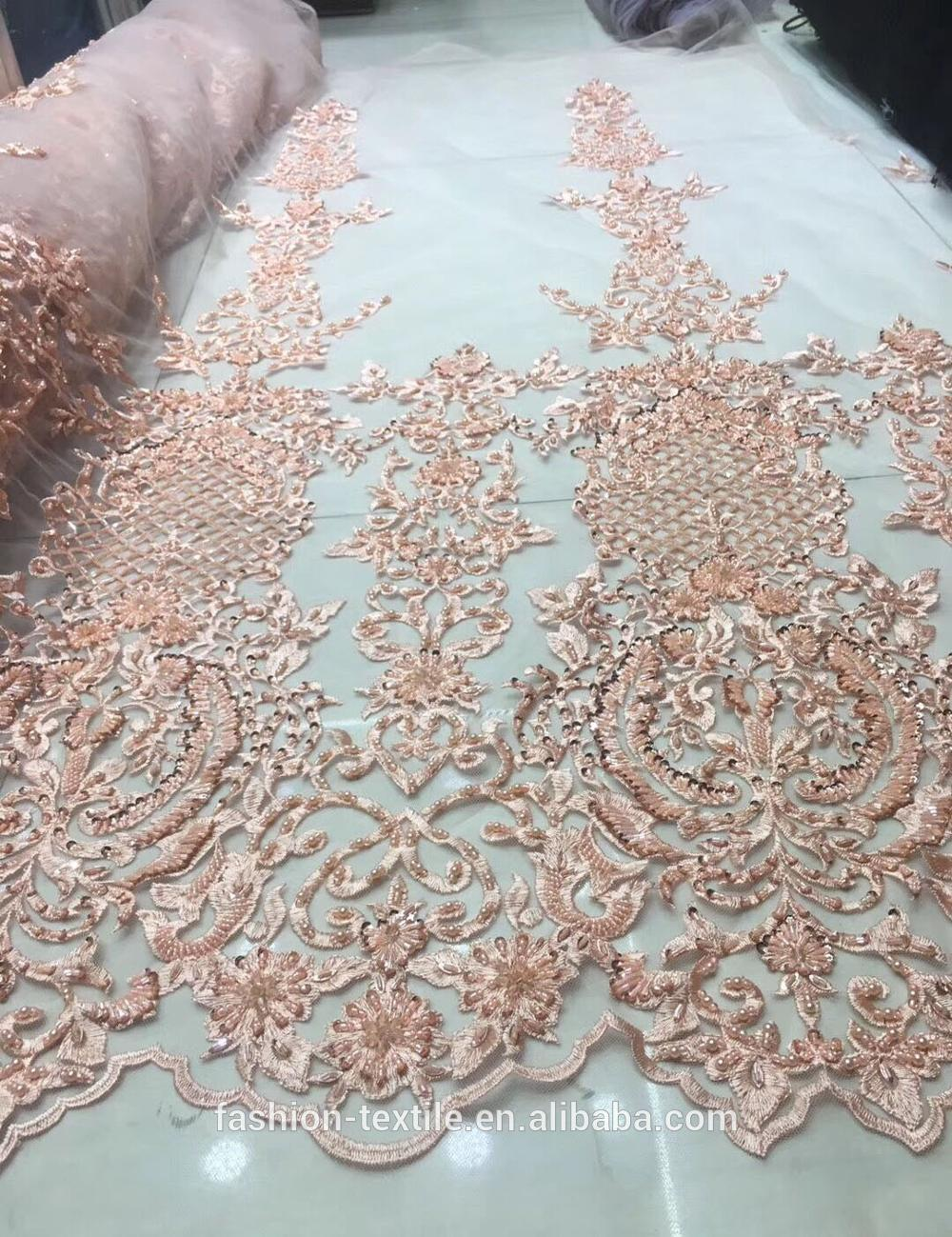 Luxury Laces Top One China Heavy Beaded Lace Fabric Graceful Handwork Lace Dress Fabric For Bridal Buy Lace Dress Fabric Beaded Lace Fabric Laces Top One China Product On Alibaba Com