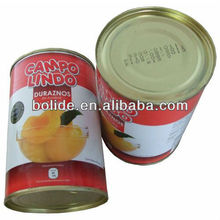 wholesale canned fruit yellow peach