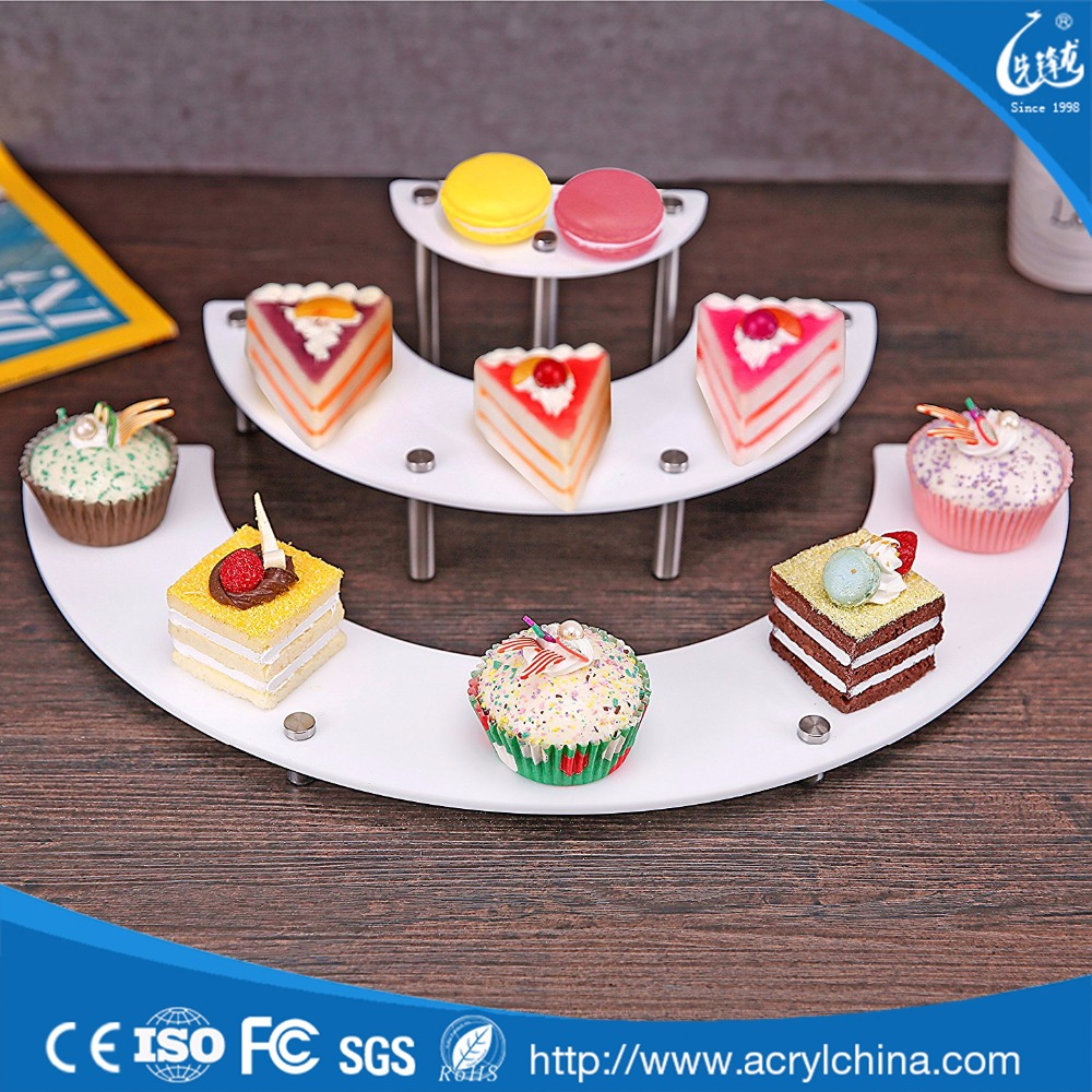 Acrylic Serving cake table/ Multifunction Cake stand