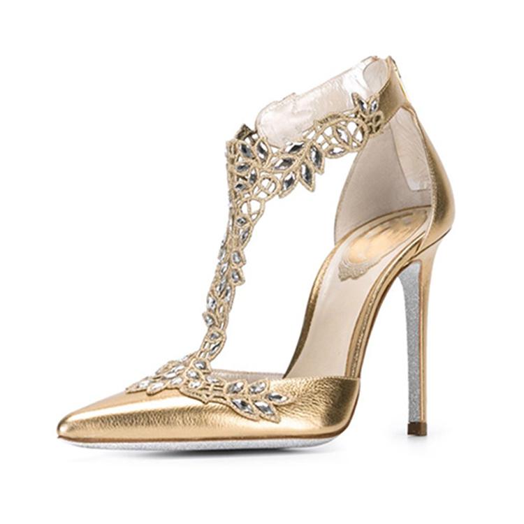 Wedding Sandals/crystal Sandals/ladies