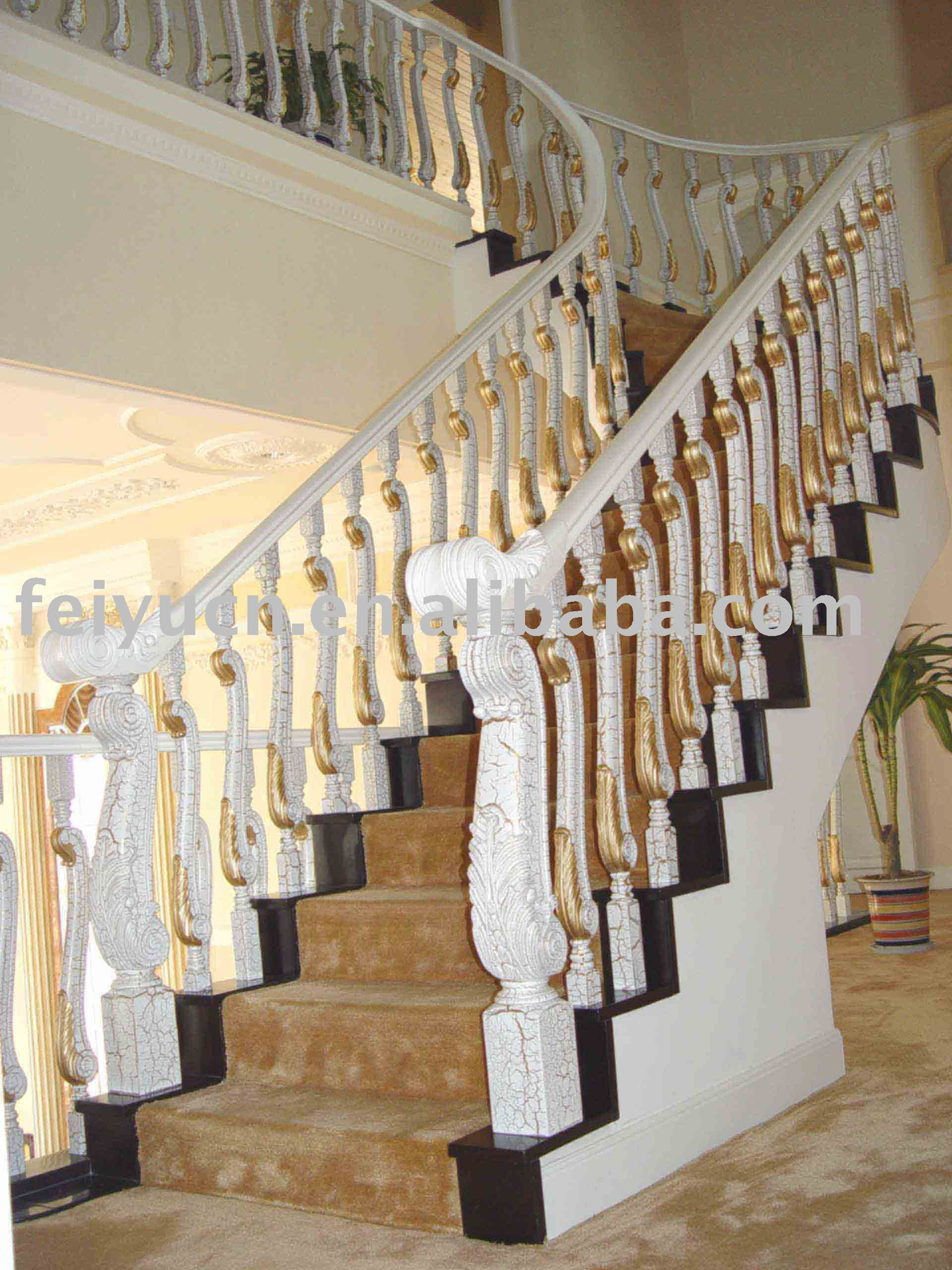 Beautiful Luxury Lion Design Bamboo Staircase   Buy Staircase,Stairway,Stair Railing  Product On Alibaba.com