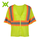 Fluorescent yellow safety wear construction clothing vest safety products