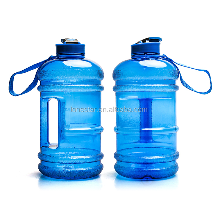 Promotional Hot Sale SGS Passed Outdoor Green  PETG 2.2L water bottle BPA free