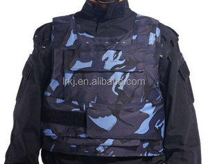 2017 military army ballistic navy blue camouflage bulletproof vest
