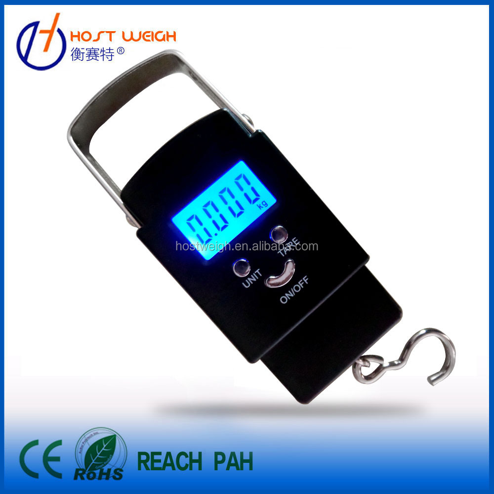 New design 50kg portable weight scale rs232