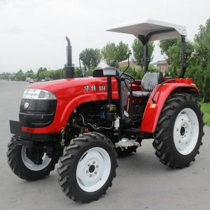 Weifang Huabo 45HP Agricultural Wheeled Tafe 4WD Tractors New Age Tractors