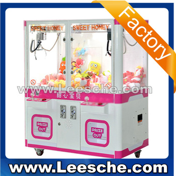 Lsjq-731 Coin Operated Two Player Gift Catcher Prize Vending ...