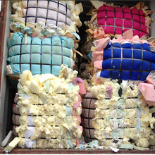 Polyurethane waste plastic recycling PU scrap foam in bales