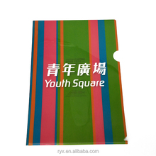 wholesale file folder a4 thick enviorment plastic PP folder
