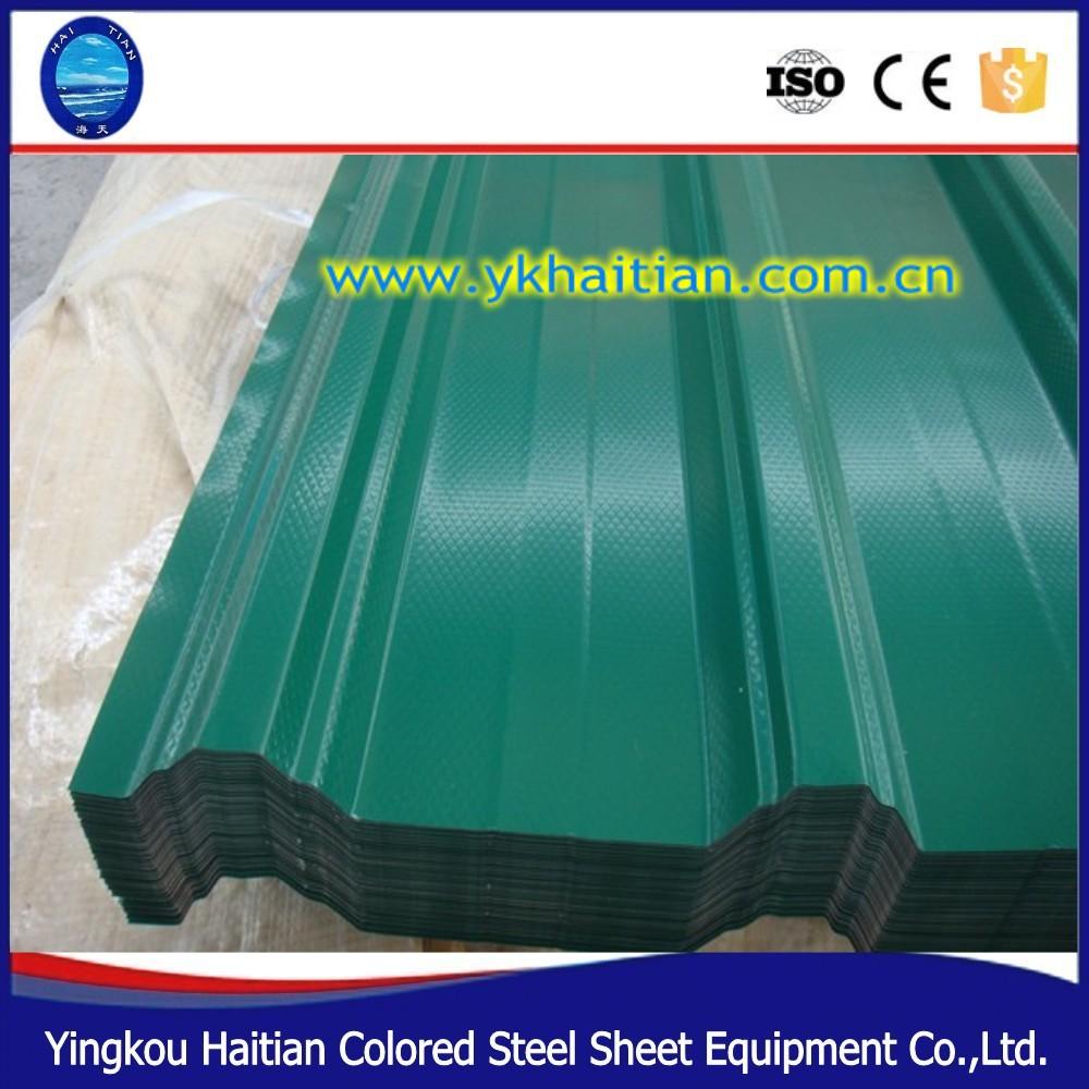 Corrugado hoja de techo de Metal galvanizado, barato para techos ...