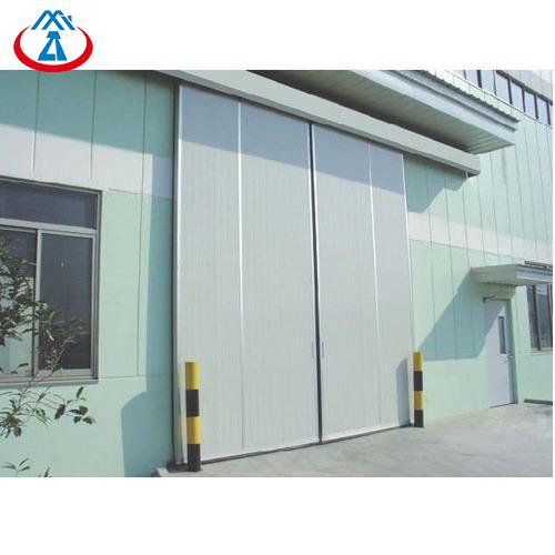 product-Zhongtai-Automatic Industrial MetalDoor Gate For Warehouse Sliding Door-img
