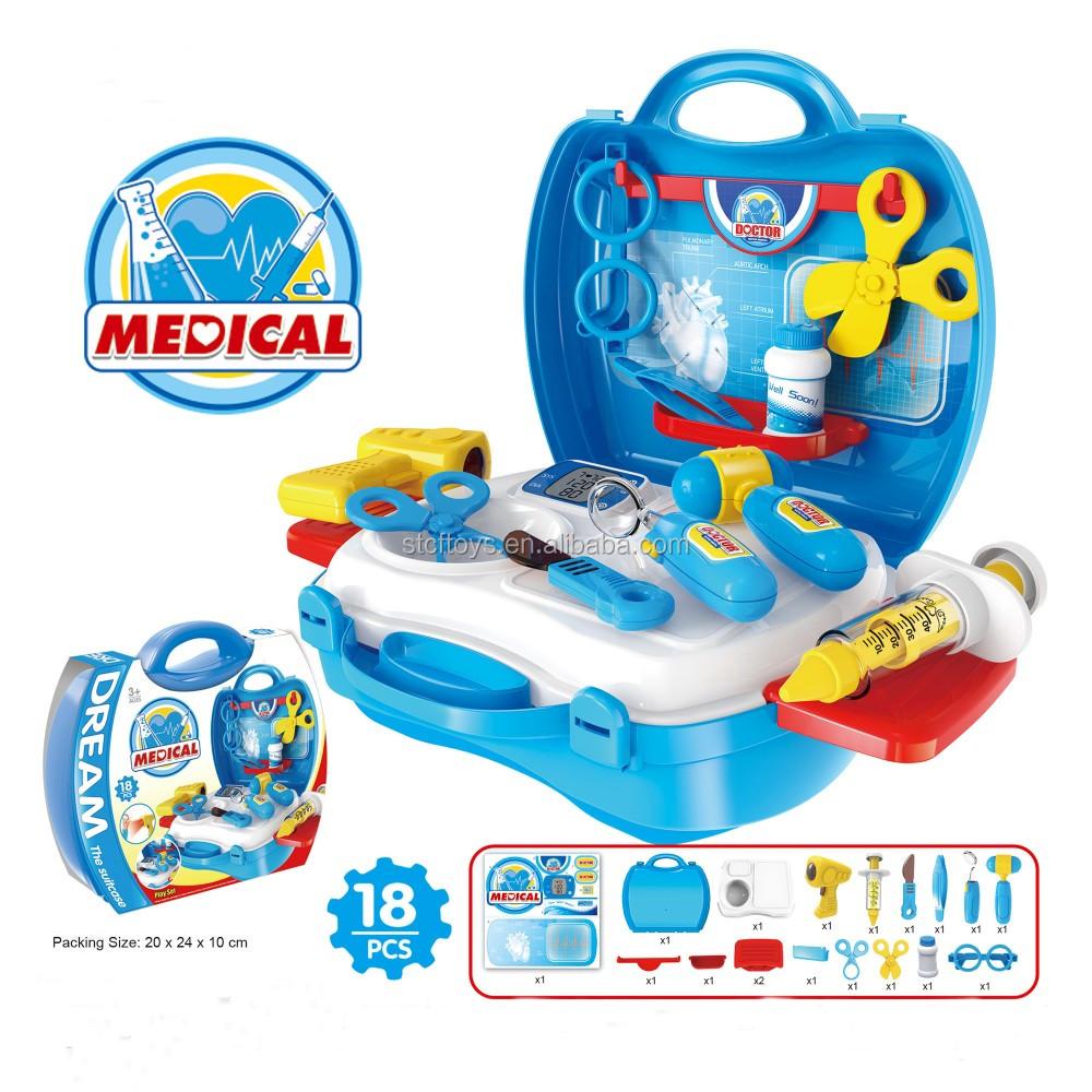 New Style Kids Pretend Play Simulation Plastic Medicine Box Doctor ...