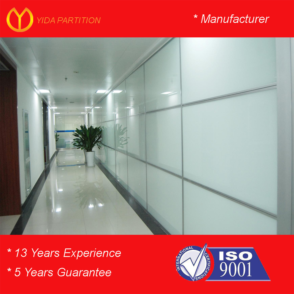 Sound Proof Commercial Office Partition Aluminium Panel Section Wall Room Dividers