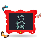 8.5 inch lcd writing tablet kids drawing board 8.5 paperless note pad one button to delete gift for child