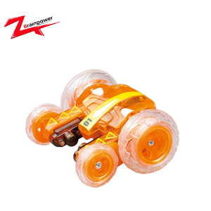 Remote control toy 360 degree stunt rolling car