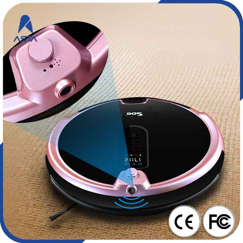 Rechargeable Battery Road Home Bot Cheap Robot Vacuum Cleaner With Wifi HD Camera