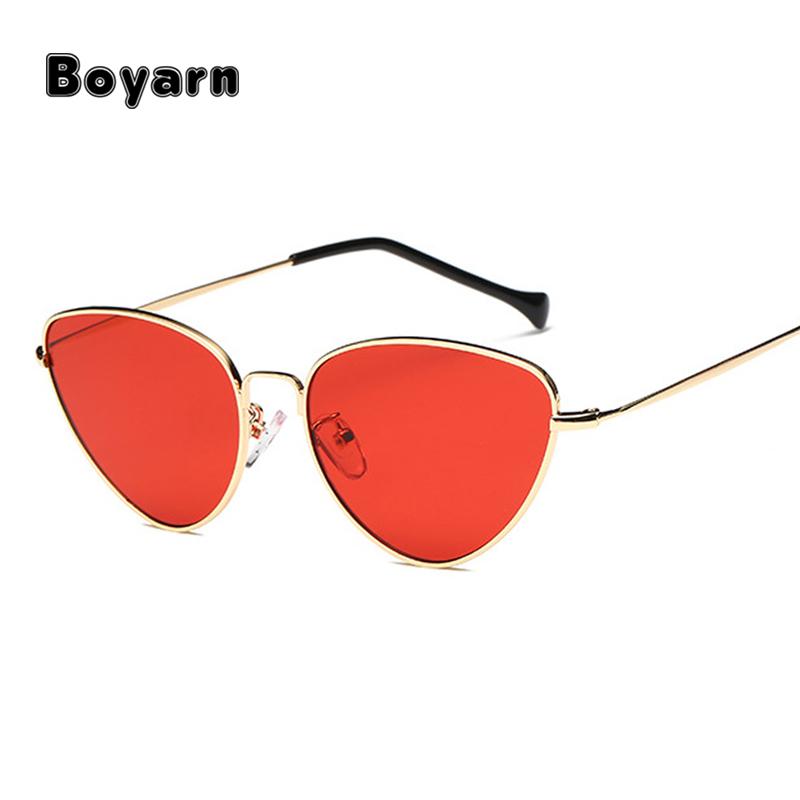 3e72ace41 ضوء الوزن الصيف و الخريف أنماط الرجعية النساء القط العين النظارات الشمسية  أزياء الرجال الأصفر ملون