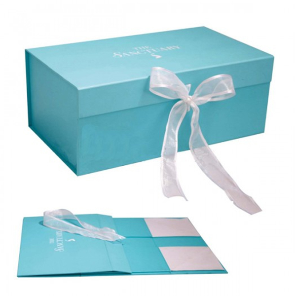 Hot sale Various styles wrist watch paper gift box with ribbon