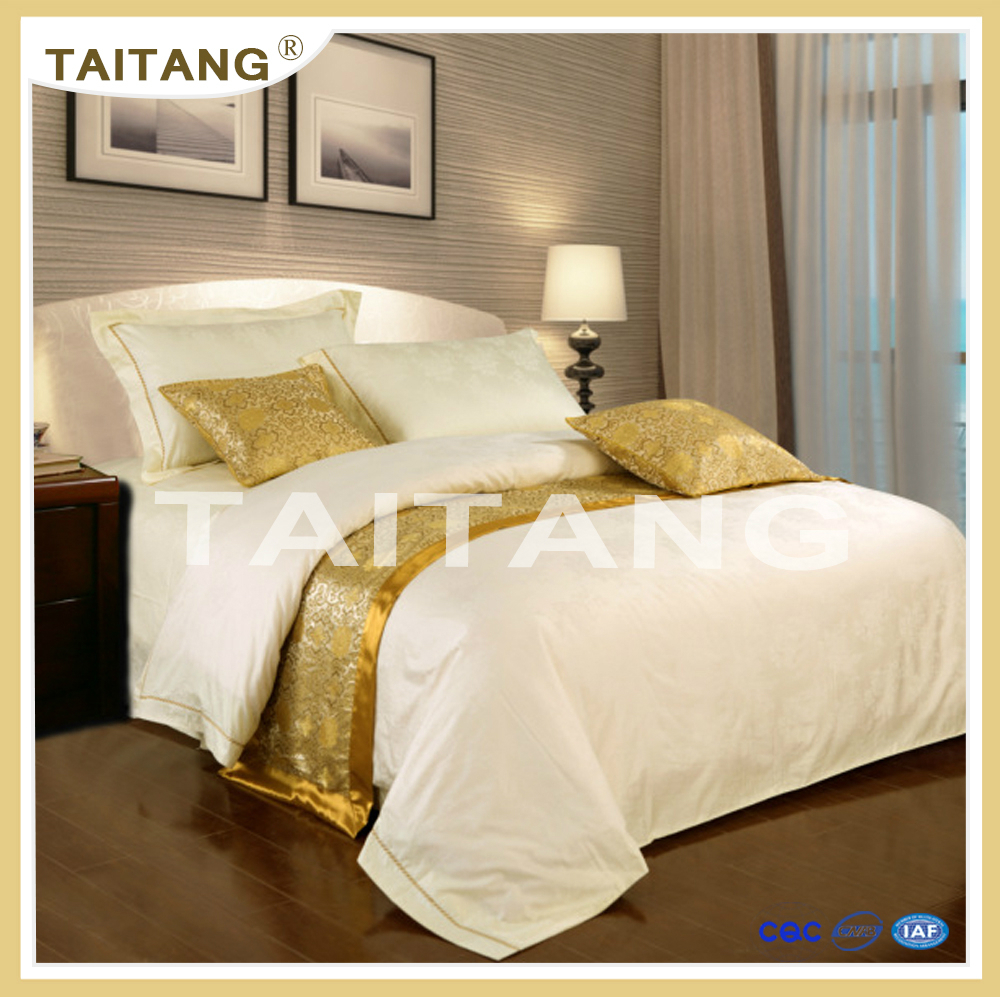 2017 cheap price hotel comfort printed style 4 pieces egyptian cotton bedding linen