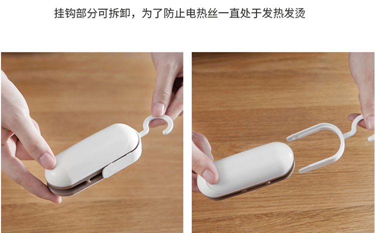 Kitchen Promotion Products Portable Mini Heat Sealer For Food Bag