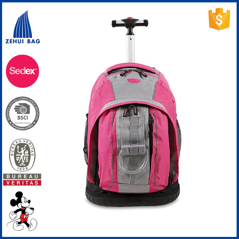 Nice Wheeled Backpack School Bag Traving Backpack Easy to Move