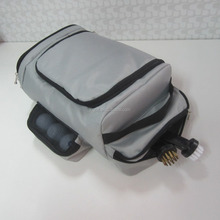 Customized high quality golf shoe bags with accessories pouch